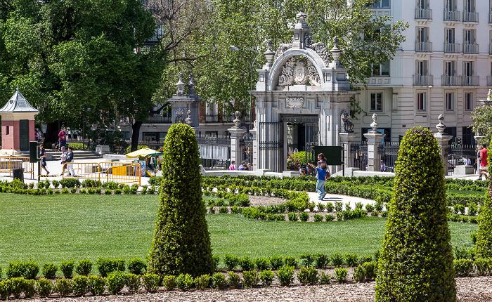 Parque del Retiro: El Parterre Madrid 2016