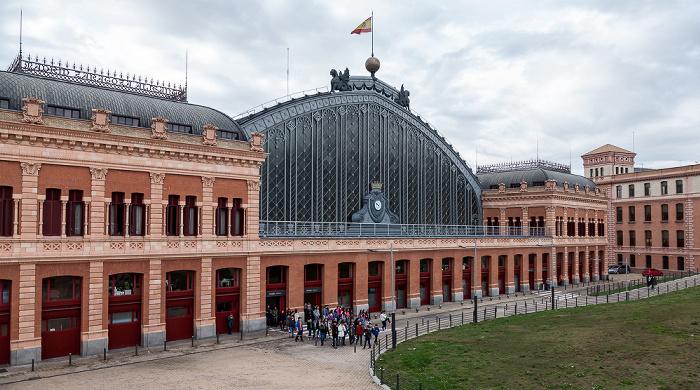 Estación de Atocha Madrid 2016