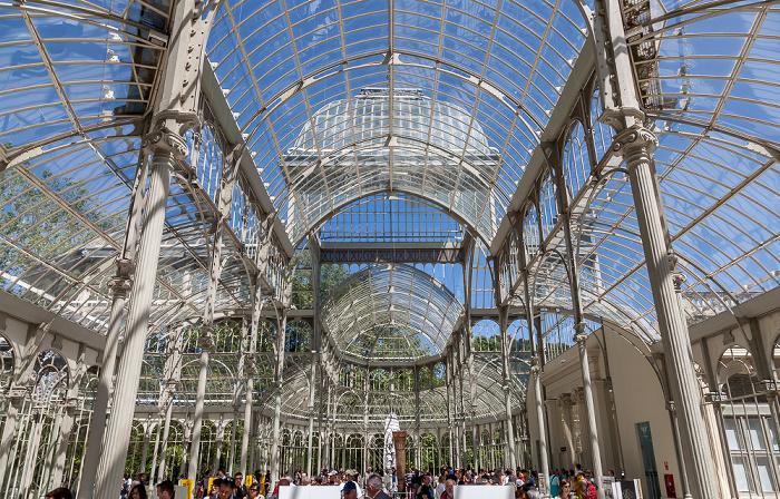 Parque del Retiro: Palacio de Cristal del Retiro Madrid 2016