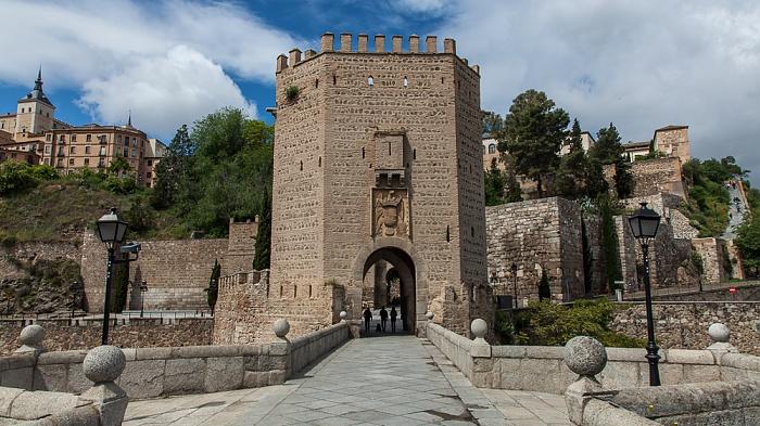 Puente de Alcántara und Puerta de Alcántara  Toledo 2016