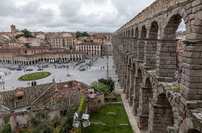 Römisches Aquädukt Segovia 2016