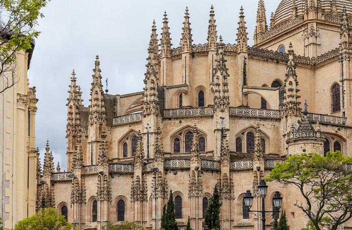 Centro Histórico: Catedral de Santa María de Segovia Segovia 2016