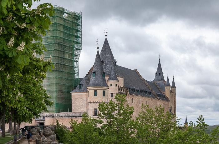 Alcázar de Segovia Segovia 2016