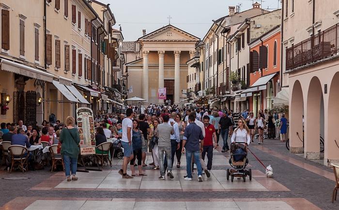 Bardolino Piazza S. Nicolo Parrocchia S.S. Nicolò e Severo