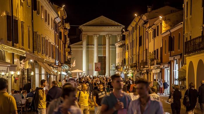 Bardolino Piazza S. Nicolo, Parrocchia S.S. Nicolò e Severo