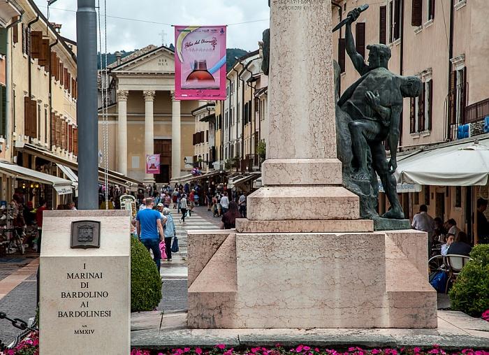 Bardolino Piazza Principe Amadeo, Piazza S. Nicolo, Parrocchia S.S. Nicolò e Severo