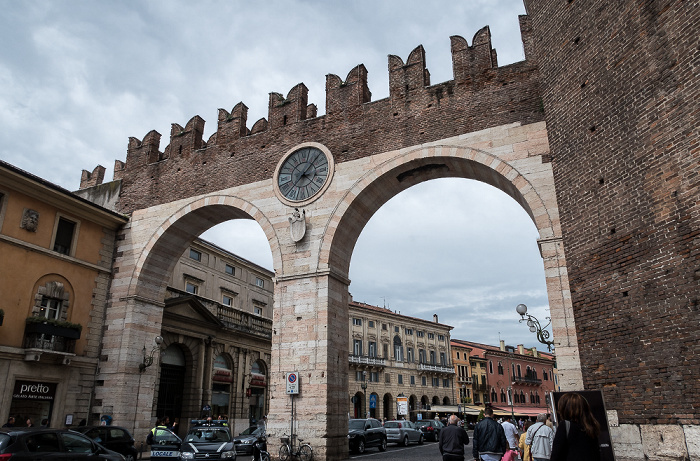 Verona Centro Storico (Altstadt): Corso Porta Nuova - Portoni della Brà