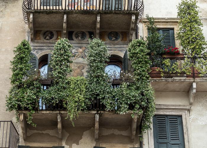 Verona Centro Storico (Altstadt): Piazza delle Erbe
