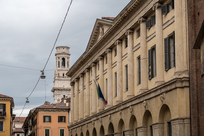 Centro Storico (Altstadt): Via Abramo Massalongo - Conservatorio Di Verona Felice Dall'Abaco Verona
