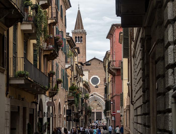 Centro Storico (Altstadt): Corso Sant' Anastasia Verona