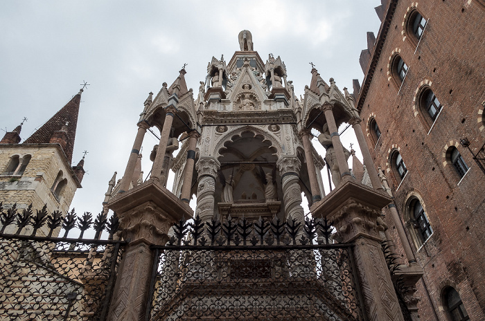 Centro Storico (Altstadt): Skaligergräber Verona