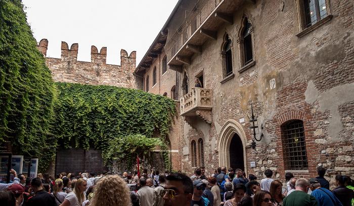 Centro Storico (Altstadt): Casa di Giulietta Verona 2016