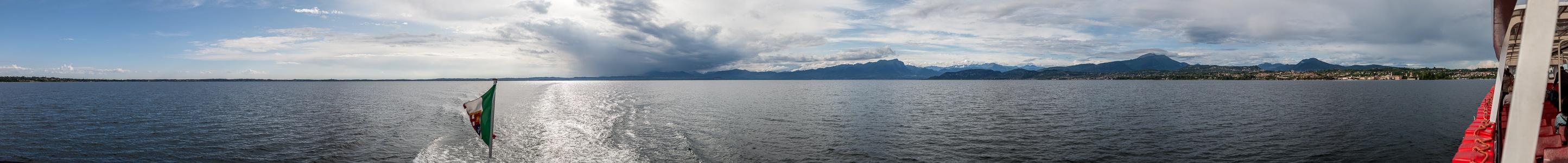 Gardasee Zwischen Sirmione und Bardolino