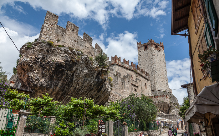 Malcesine Centro Storico: Skaligerburg (Castello Scaligero)