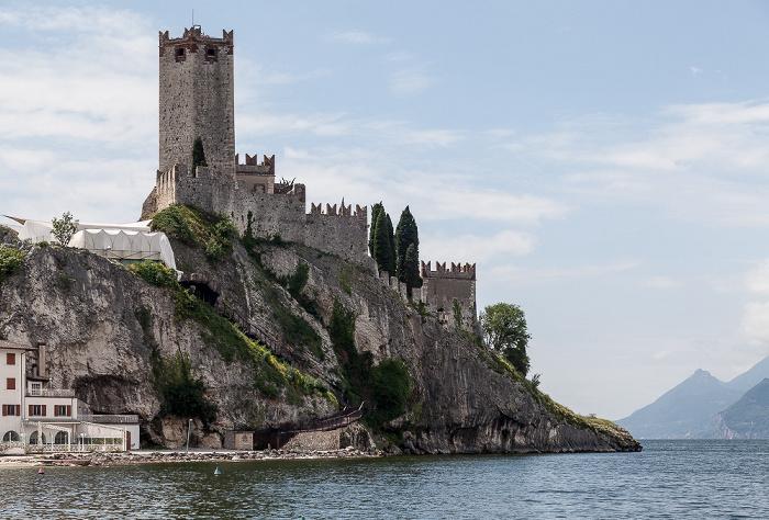 Malcesine Centro Storico: Skaligerburg (Castello Scaligero), Gardasee