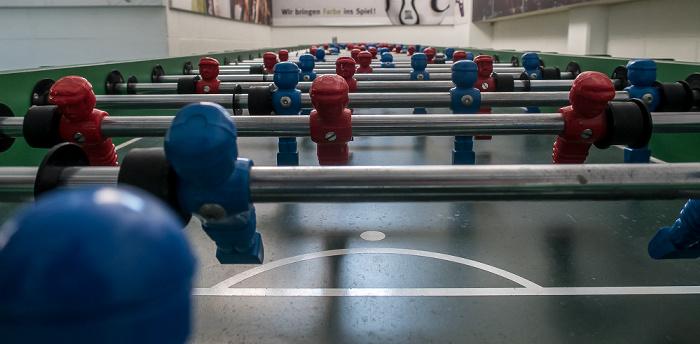 Olympiastadion: Riesen-Tischfußballtisch München