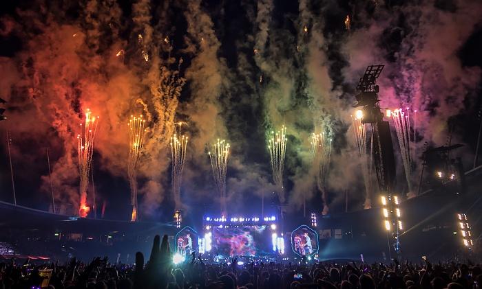 Letzigrund: Coldplay Zürich