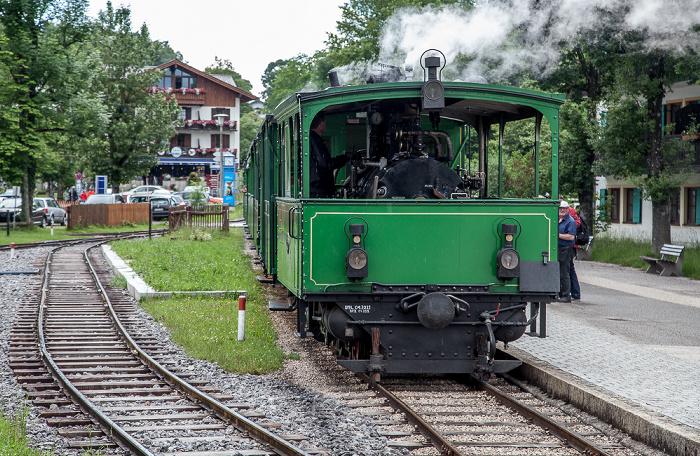 Prien am Chiemsee Bahnhof Prien-Stock: Chiemsee-Bahn