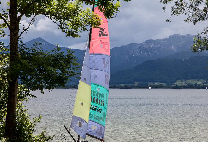 Fraueninsel Chiemsee, Chiemgauer Alpen
