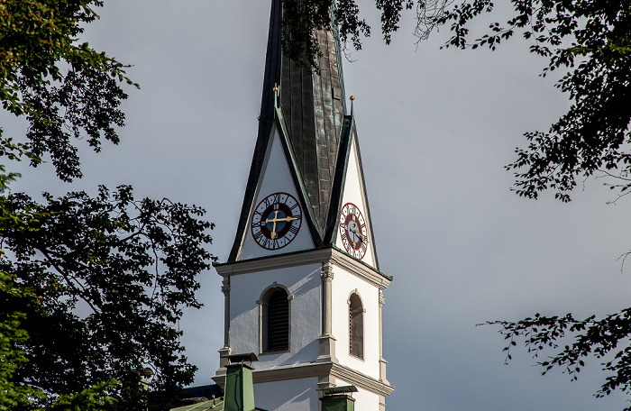 Prien am Chiemsee Pfarrkirche Mariä Himmelfahrt