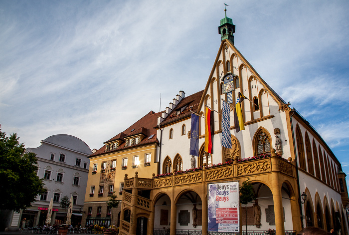 Amberg Altstadt: Marktplatz - Rathaus