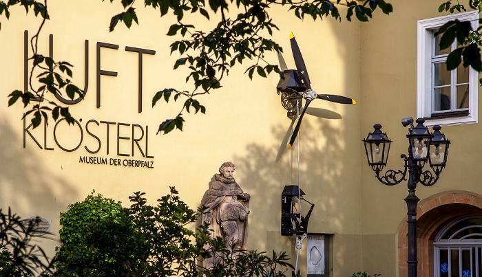 Amberg Altstadt: Eichenforstplatz - Luftmuseum