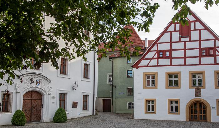 Amberg Altstadt: Marstallgasse Alte Veste