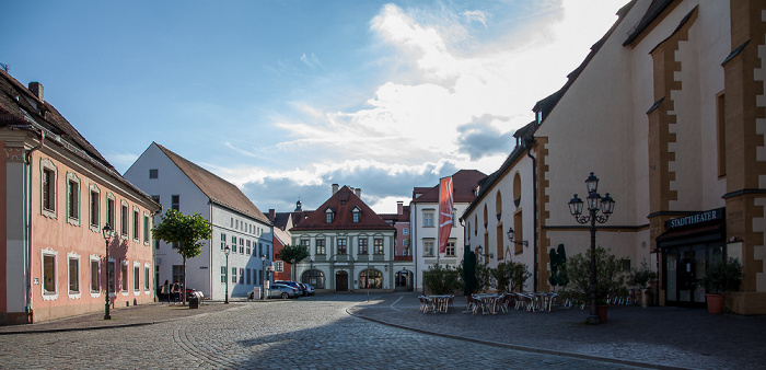 Amberg Altstadt: Schrannenplatz Stadttheater