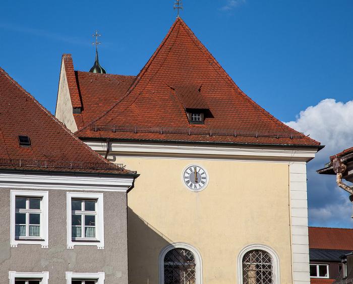 Amberg Altstadt: Schrannenplatz - Schulkirche St. Augustinus