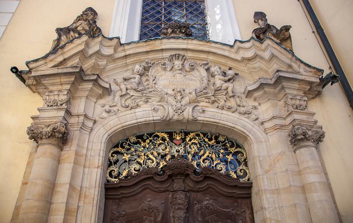 Amberg Altstadt: Schulkirche St. Augustinus