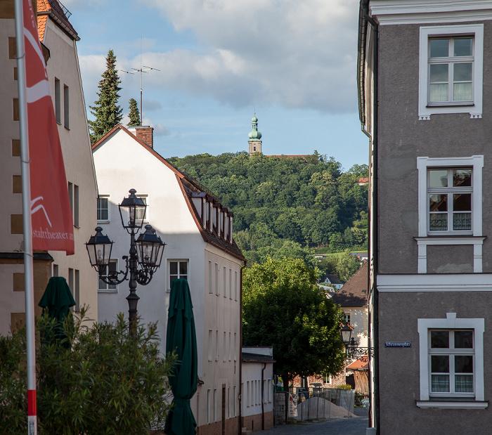 Amberg Altstadt: Schrannenplatz / Franziskanergasse Mariahilfberg Wallfahrtskirche Maria Hilf