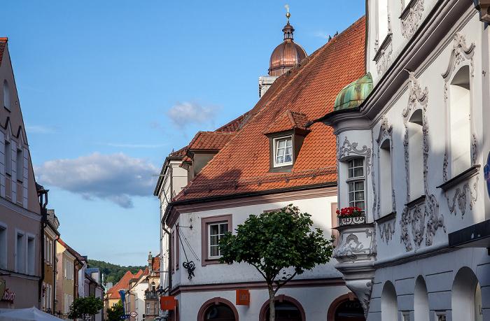 Amberg Altstadt: Georgenstraße Fenzl-Haus