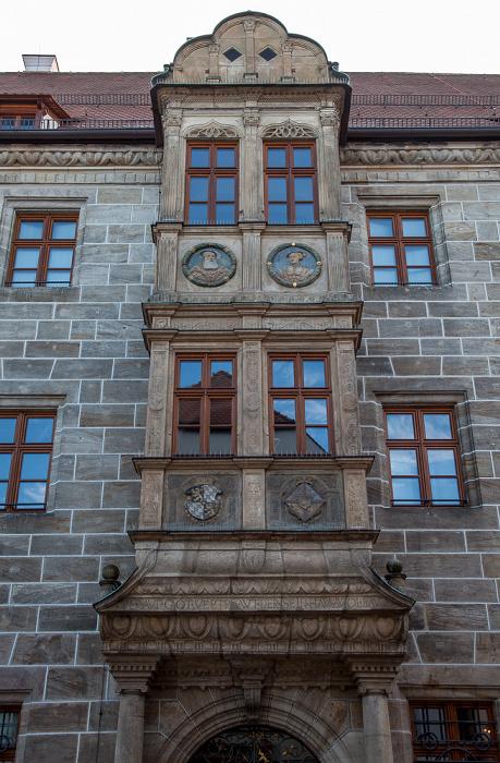 Altstadt: Regierungsstraße - Kurfürstliche Regierungskanzlei (Landgericht Amberg)
