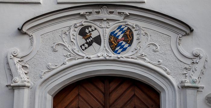 Amberg Altstadt: Alte Veste (Eichenforst, später kurfürstlicher Marstall und Palais)