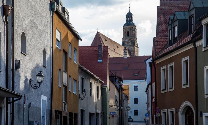 Amberg Altstadt: Seminargasse St. Georg