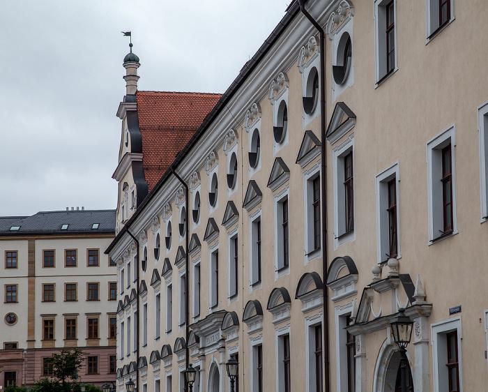 Amberg Altstadt: Malteserplatz - Maltesergebäude