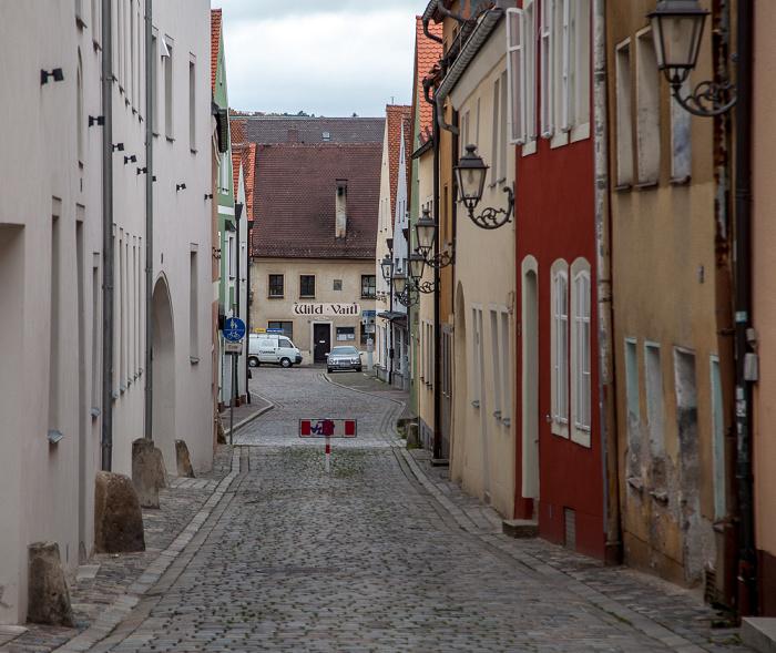 Amberg Altstadt: Seminargasse Wild Vaitl
