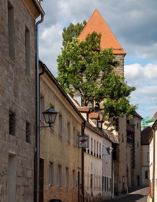 Amberg Altstadt: Fronfestgasse Ziegeltor