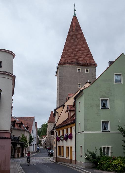 Amberg Altstadt: Jesuitenfahrt, Turm des Vilstores