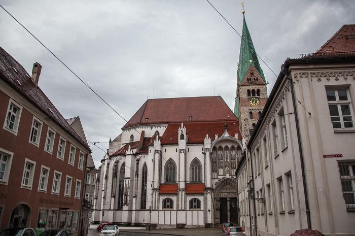 Frauentorstraße, Augsburger Dom (Hohe Domkirche Mariä Heimsuchung)