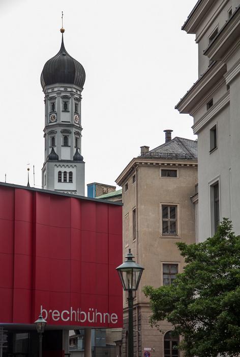 Augsburg Brechtbühne Katholische Heilig-Kreuz-Kirche Kloster Heilig Kreuz