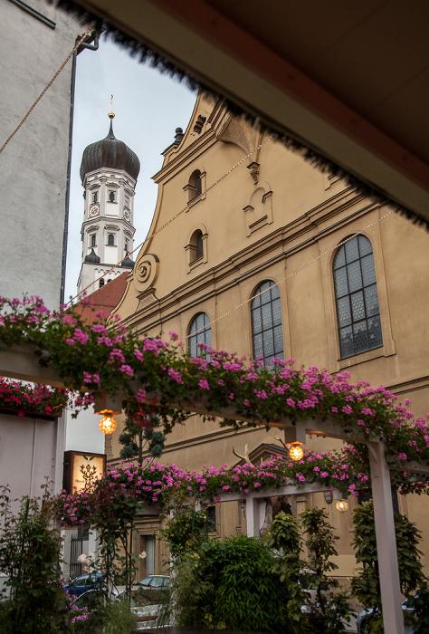 Augsburg Thorbräukeller Kloster Heilig Kreuz