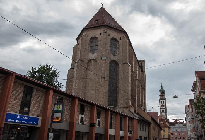 Augsburg Barfüßerstraße: Barfüßerkirche St. Peter am Perlach