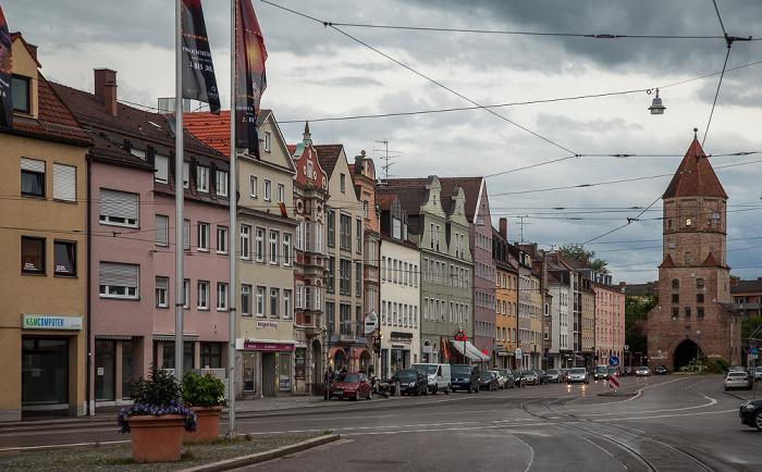 Augsburg Jakoberstraße Jakobertor