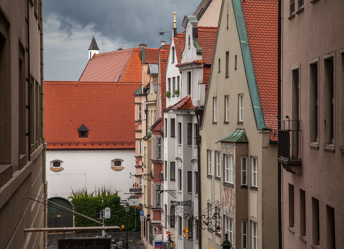 Augsburg Elias-Holl-Platz Kloster der Franziskanerinnen von Maria Stern