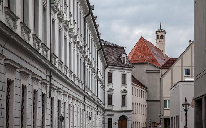 Augsburg Katharinengasse: Schaezlerpalais Staatsgalerie Altdeutsche Meister