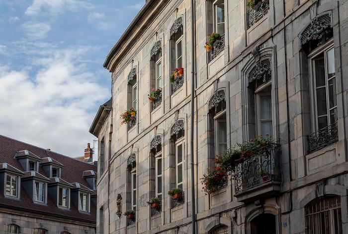 Besançon La Boucle: Rue du Général Lecourbe / Rue Chifflet