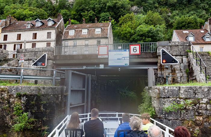 Besançon Tunnel fluvial de la Citadelle (Canal du Rhône au Rhin)