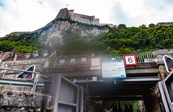 Besançon Tunnel fluvial de la Citadelle (Canal du Rhône au Rhin) Citadelle de Besançon