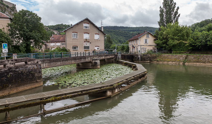 Besançon Doubs Canal du Rhône au Rhin Tunnel fluvial de la Citadelle
